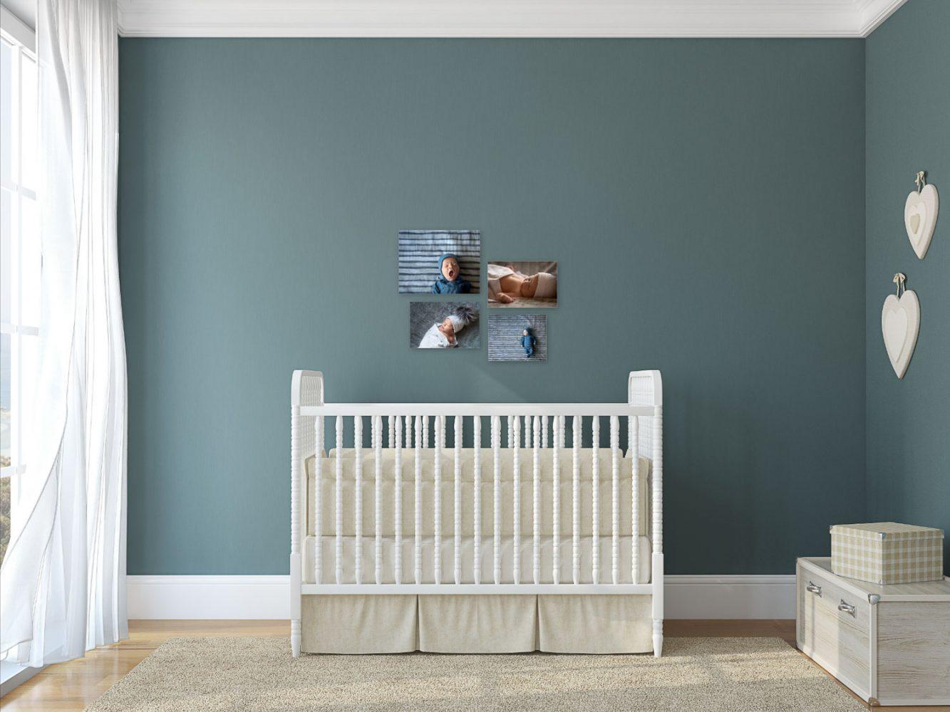 Baby boy room wall art in Boro Park by Picadilly Studios
