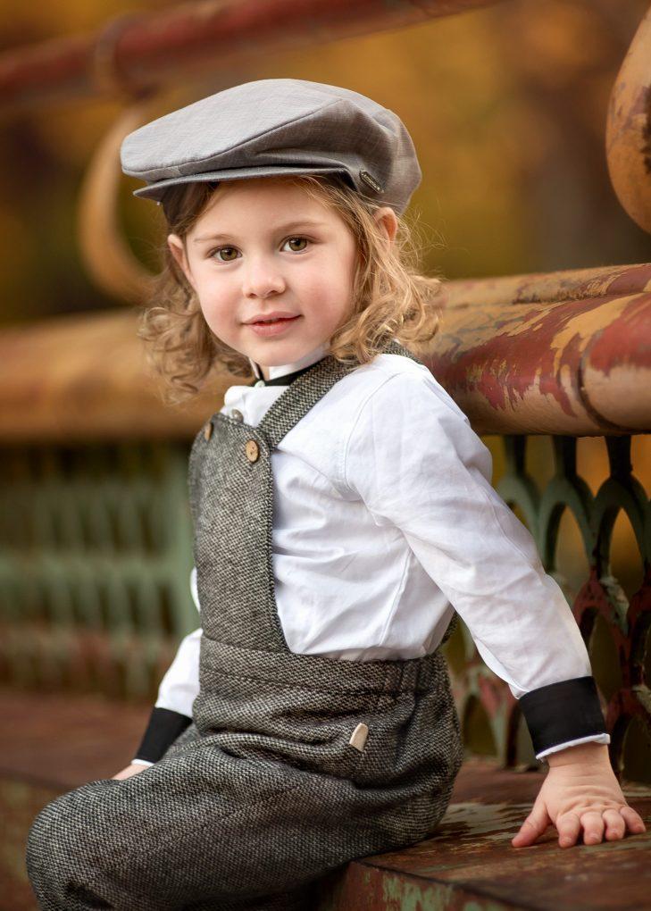 little boy autumn prospect park session