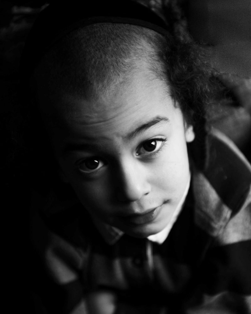 Portrait of young boy taken in-home in Brooklyn NY by Picadilly Studios